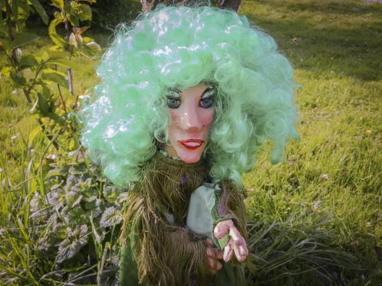 LPT Hexe mit grünen Haaren