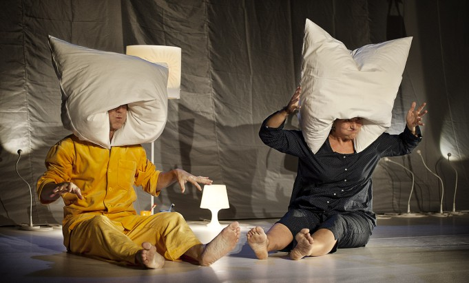 theater monteure: abend sonne morgen mond