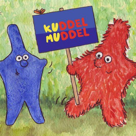 Kuddel & Muddel mit Logo (c) Kuddelmudel C. Haslehner