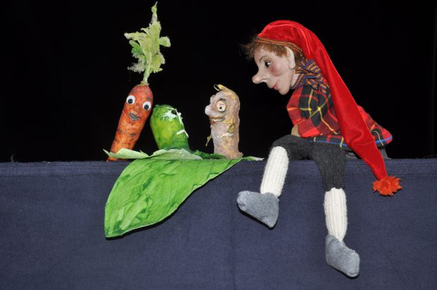 Kasperl und der große Zucchini (c) Bettina Nock